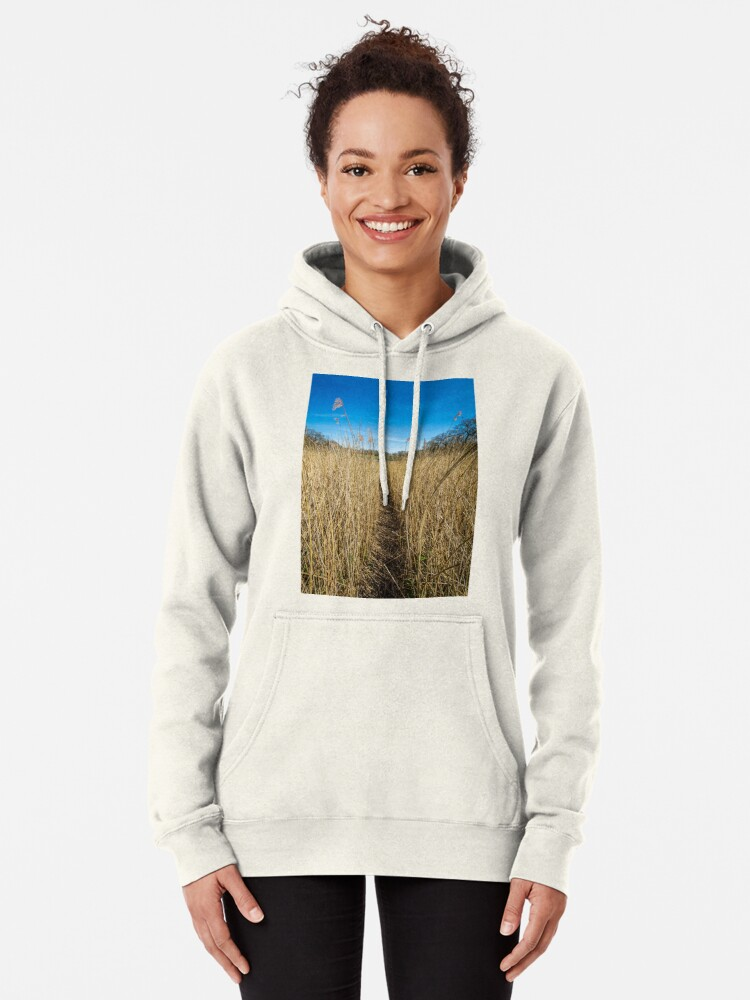 Alternate view of Pathway Through The Reeds Pullover Hoodie