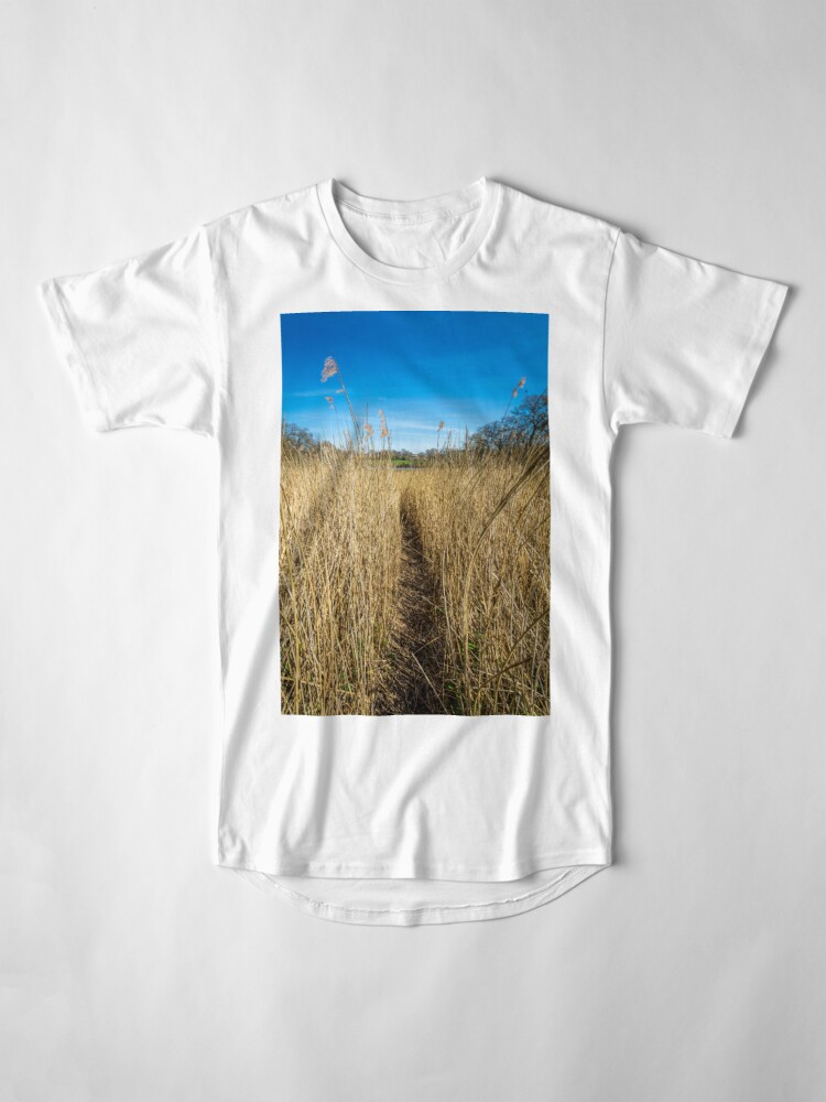 Alternate view of Pathway Through The Reeds Long T-Shirt