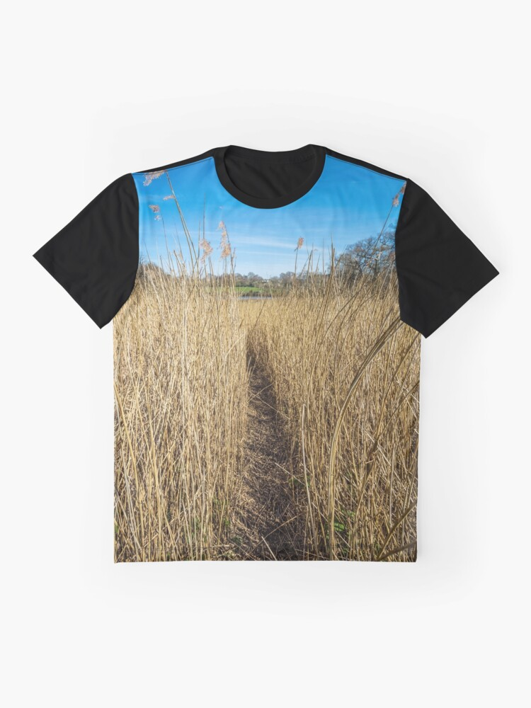 Alternate view of Pathway Through The Reeds Graphic T-Shirt