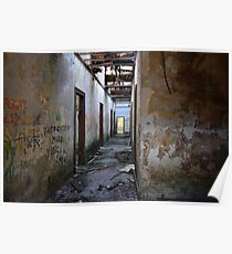 Abandoned Cotton Factory Poster