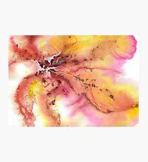 Watercolor Autumn Elegance  Photographic Print