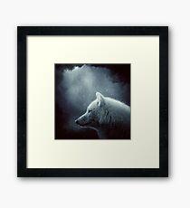 Lámina enmarcada Lobo