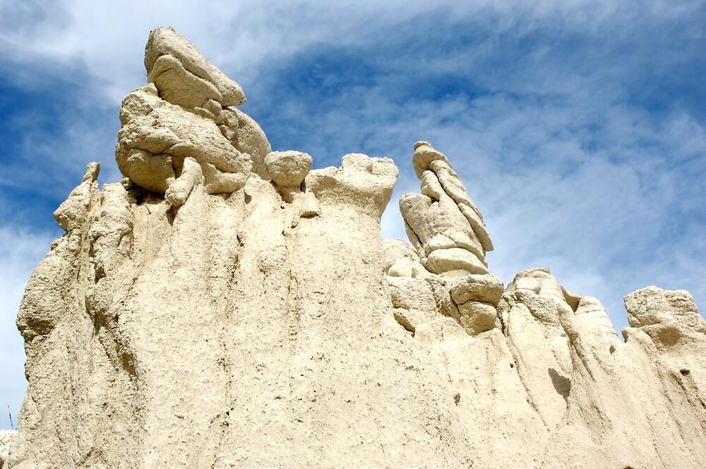 White Rocks West Texas by Ray Granado