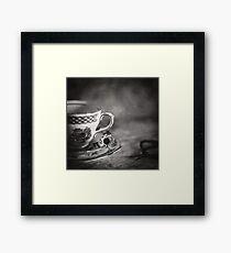 Vintage Teacup Still Life Framed Print