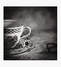 Vintage Teacup Still Life Photographic Print