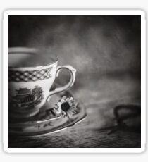 Vintage Teacup Still Life Sticker