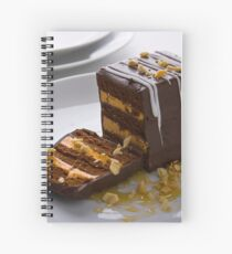 Contemporary Food shot 1 Spiral Notebook