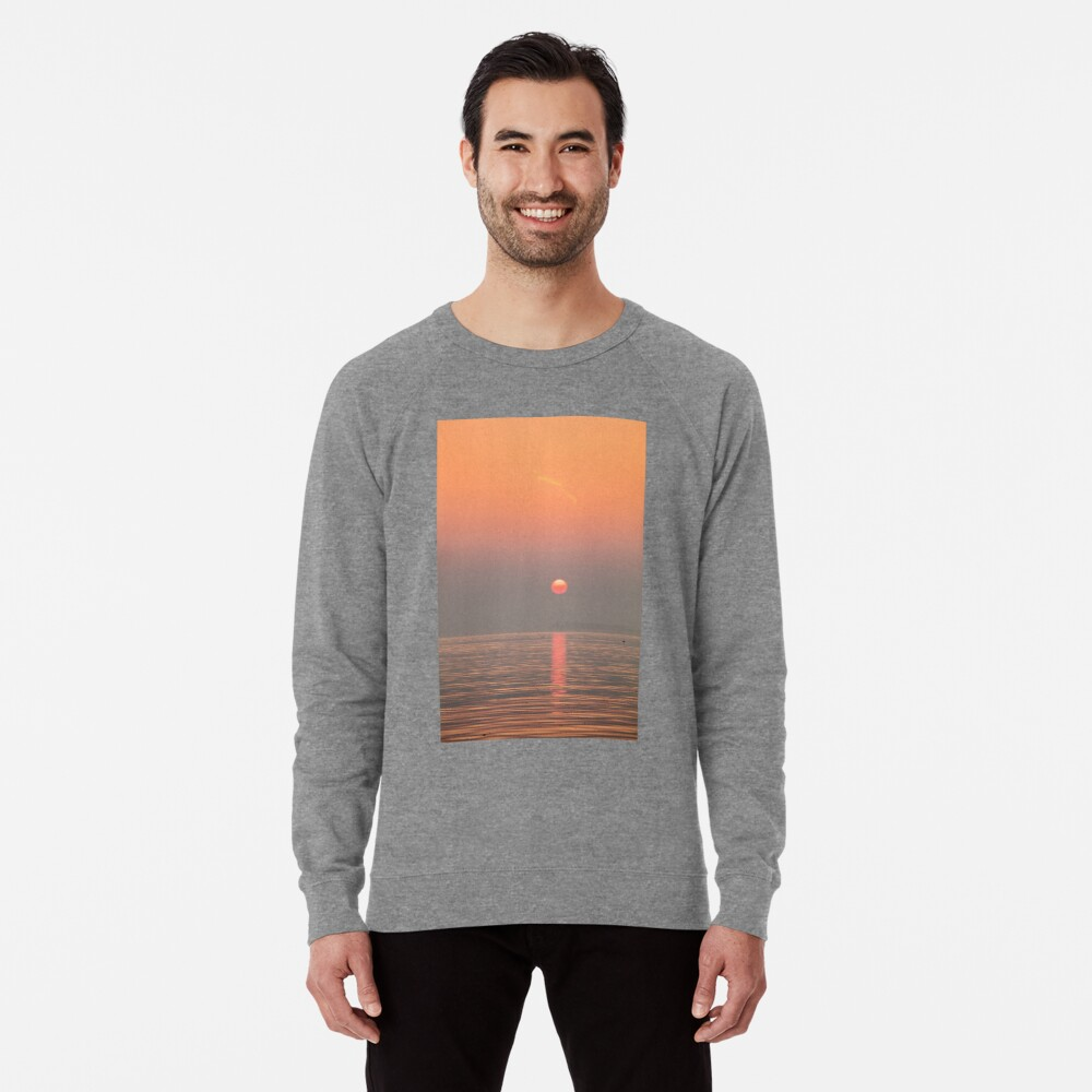 Pastel Solent Sunrise Lightweight Sweatshirt