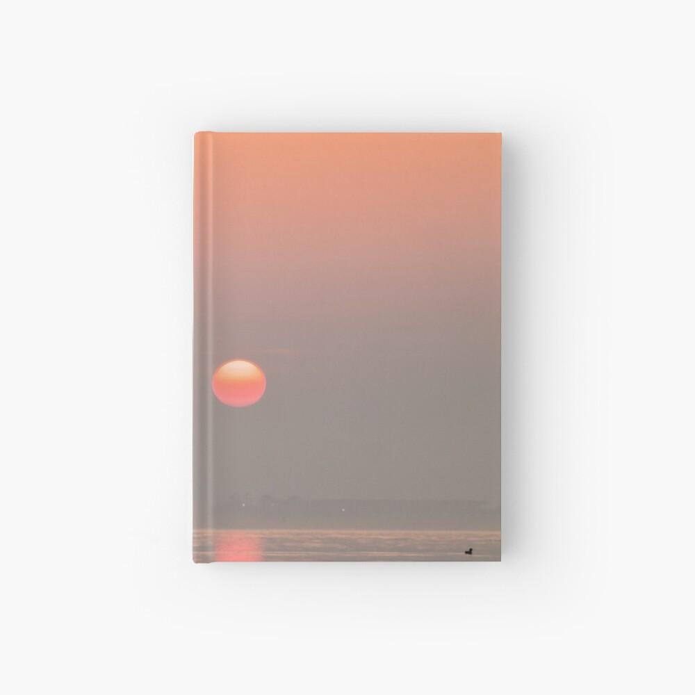Pastel Solent Sunrise Hardcover Journal