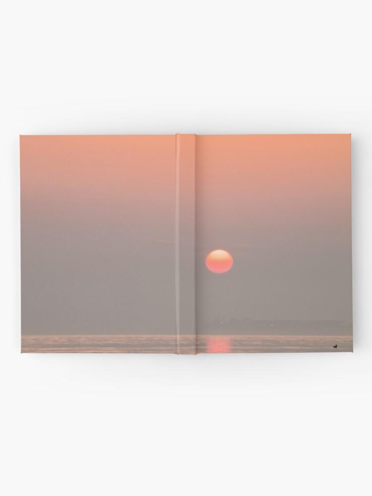 Alternate view of Pastel Solent Sunrise Hardcover Journal