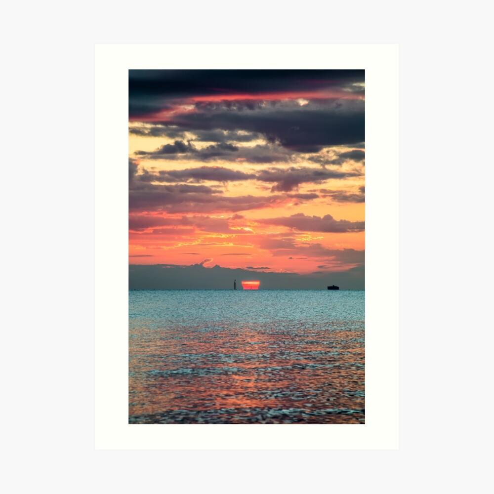 Solent Sunrise Art Print