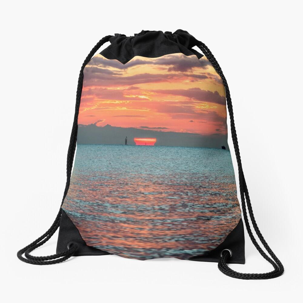 Solent Sunrise Drawstring Bag