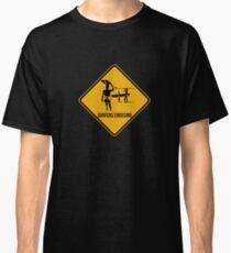 Surfers crossing Classic T-Shirt