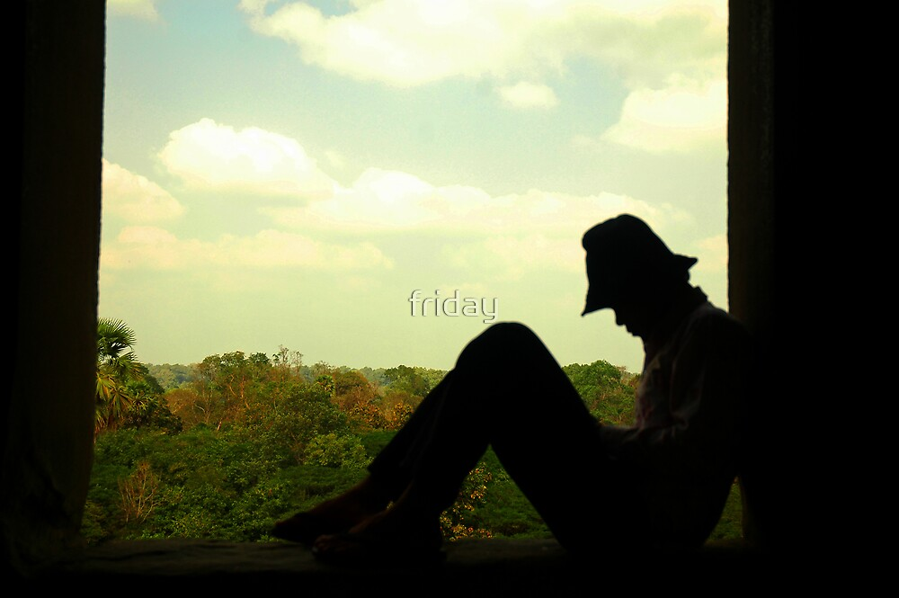 window man angkork by Amagoia  Akarregi
