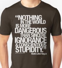 Camiseta unisex MARTIN LUTHER KING HIJO. DIJO . . .