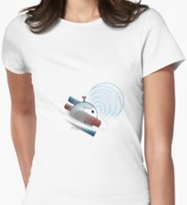 Magnemite Sonic Boom Womens Fitted T-Shirt