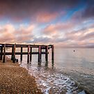 Woodside Bay Sunset by manateevoyager