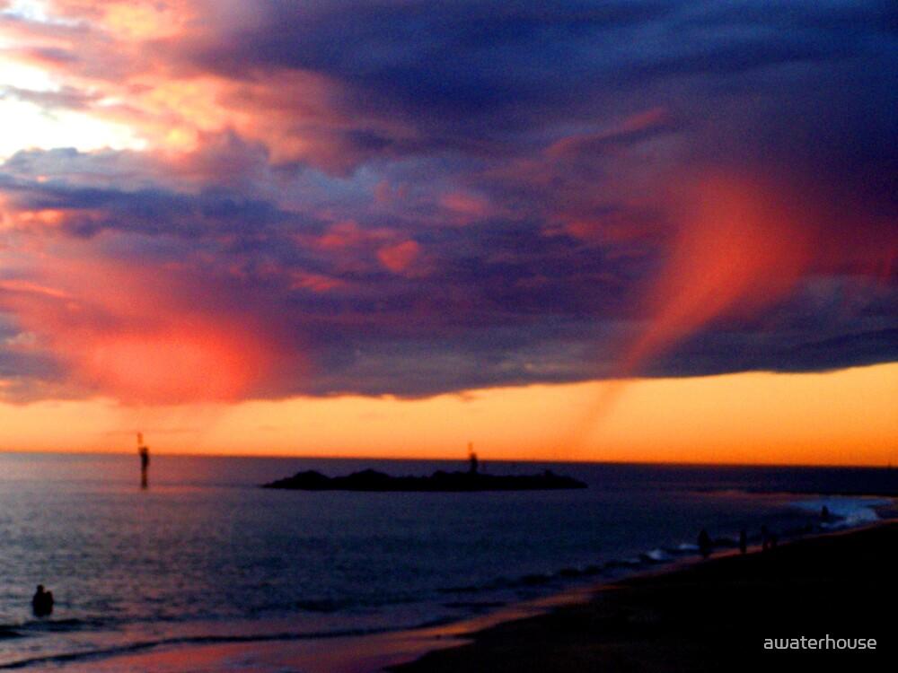 Wispy clouds by awaterhouse