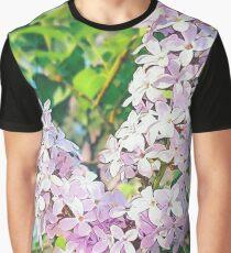 Unique Pink Floral Graphic T-Shirt
