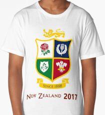 British Lions 2017 Zew Zealand Rugby Union Long T-Shirt