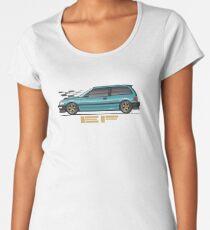 EF aqua Women's Premium T-Shirt