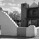 Church of San Geronimo, Taos Pueblo by Harry Oldmeadow