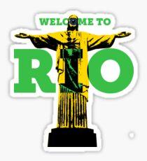 Welcome to Rio Sticker