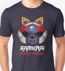 Samurai Pizza Skull Unisex T-Shirt