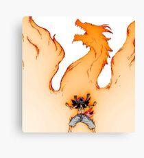 Natsu : rage Canvas Print