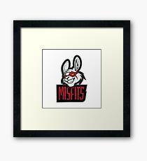 Misfits logo Framed Print
