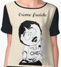 Creme Fraiche South park Chiffon Top