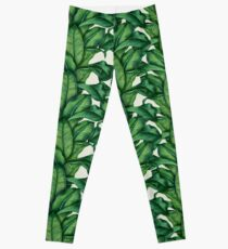 Botanical Leaves Leggings