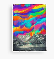 Skyfall, Melting Northern Lights Canvas Print