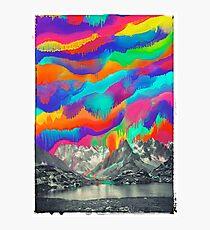 Skyfall, Melting Northern Lights Photographic Print