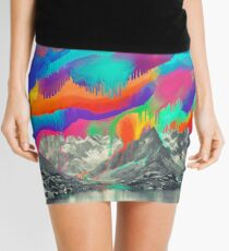 Skyfall, Melting Northern Lights Mini Skirt