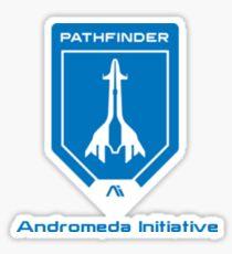 Pathfinder Andromeda Sticker