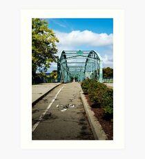 Historic Bridge Landscape Art Print