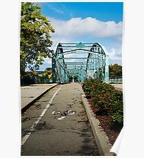 Historic Bridge Landscape Poster