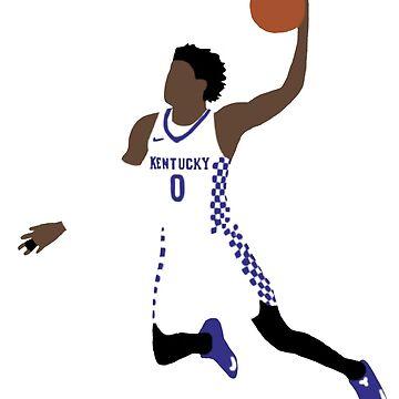 De'Aaron Fox Kentucky  by RatTrapTees