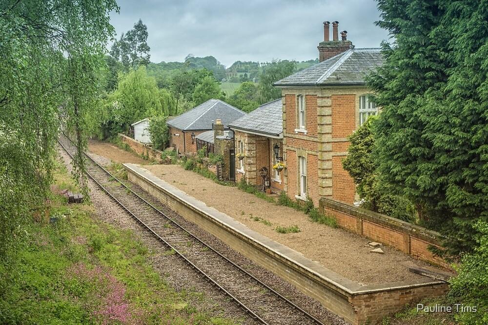 Blake Hall Station, Essex, UK by Pauline Tims