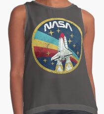 Nasa Vintage Colors V01 Sleeveless Top