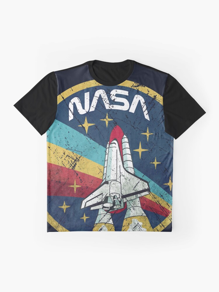 Alternate view of Nasa Vintage Colors V01 Graphic T-Shirt