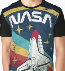 Nasa Vintage Colors V01 Graphic T-Shirt