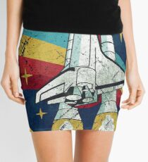 Nasa Vintage Colors V01 Mini Skirt