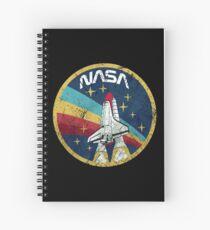 Nasa Vintage Colors V01 Spiral Notebook