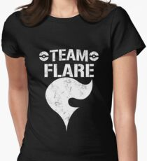 Team Flare / Bullet Club Womens Fitted T-Shirt