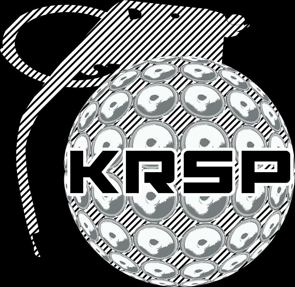 KRSP Logo White by Skeptik