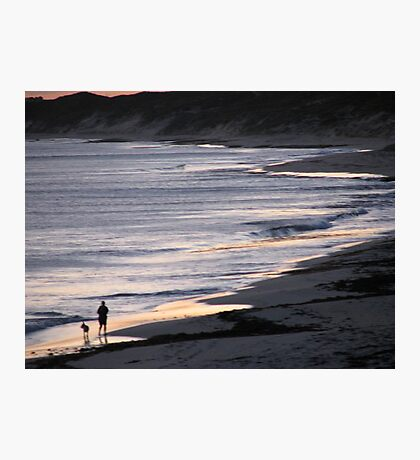 Sombre Stroll Photographic Print