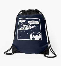 Aliens auf der Suche nach intelligentem Leben / (Gender Sexism ;) Drawstring Bag