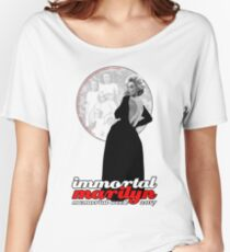 Immortal Marilyn Memorial Week 2017 with Logo Women's Relaxed Fit T-Shirt
